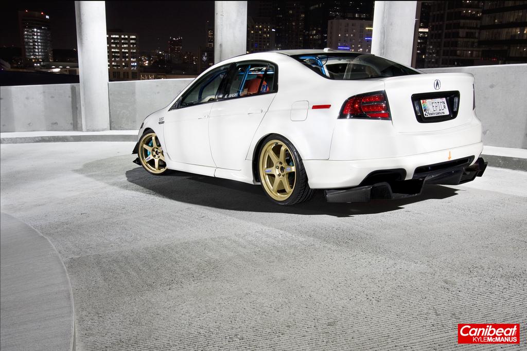 Sweet Acura TL - Acura tl gold rims
