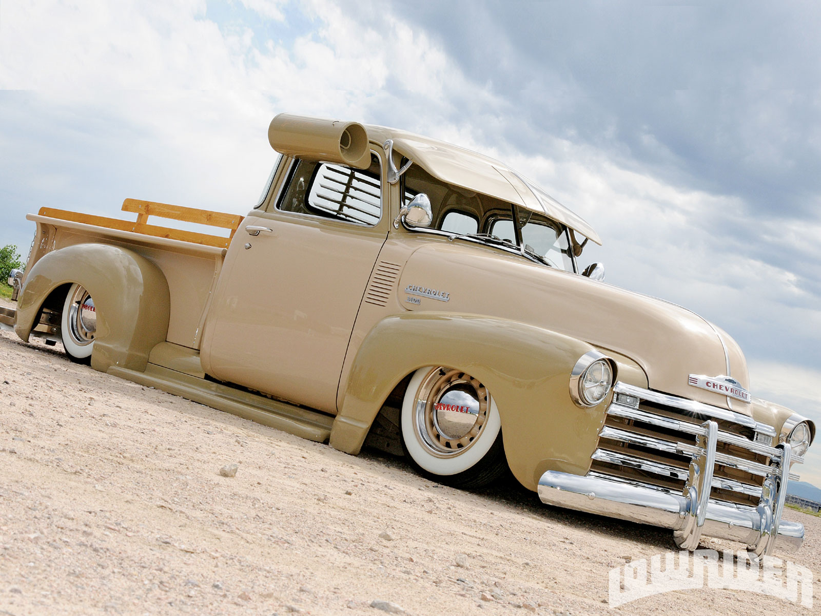 Truck 1949 Chevy Bagged Pic