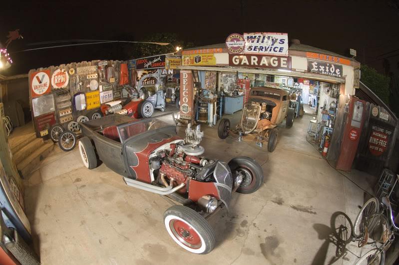 Project Cars Hot Rod Garage : Vintage garage
