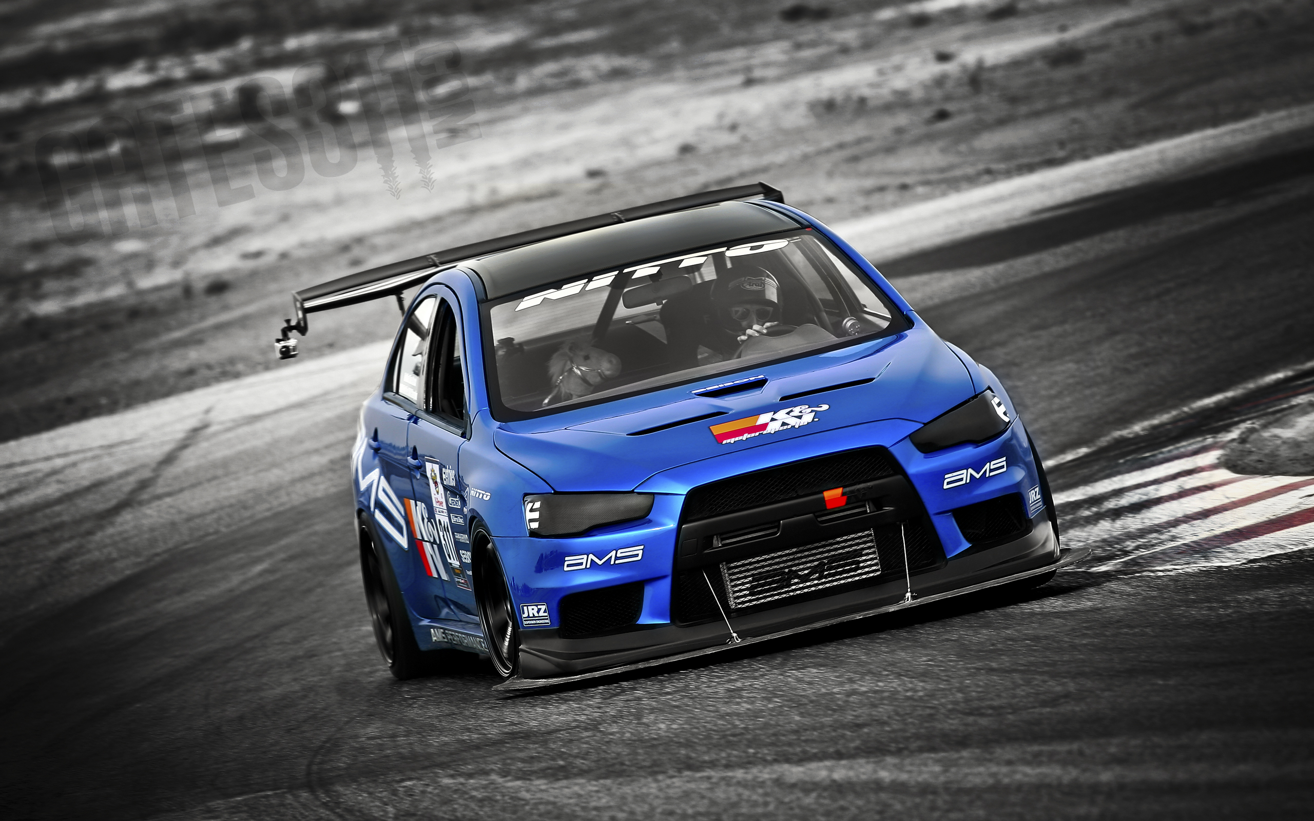 Great shot of the AMS Evo X.